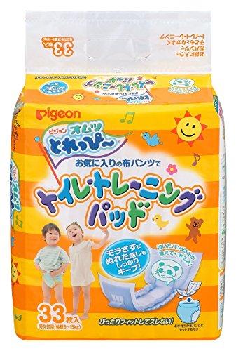 ピジョン オムツ とれっぴ~ トイレトレーニングパッド 33枚入