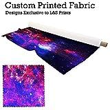 Galaxy 1Design Digital Print Stoff Strick Jersey