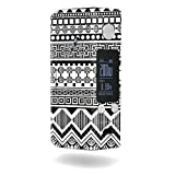MightySkins Skin Compatible with Wismec Reuleaux RX200S – Black Aztec | Protective, Durable, and Unique Vinyl Decal wrap Cover | Easy to Apply, Remove, and Change Styles | Made in The USA