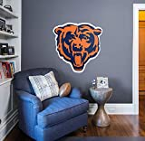 Fathead NFL Chicago Bears Officially Licensed Logo Removable Wall Decal, Multicolor, Giant - 14-14008