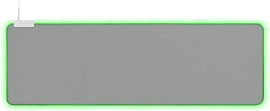 Razer Goliathus Extended Chroma Gaming Mousepad: Customizable Chroma RGB Lighting - Soft, Cloth Material - Balanced Control & Speed - Non-Slip Rubber Base - Mercury White