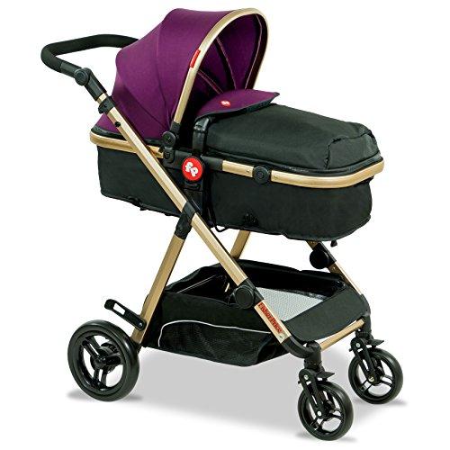 Fisher-Price - Hiker Luxury Stroller Cum Pram (Royal Plum)