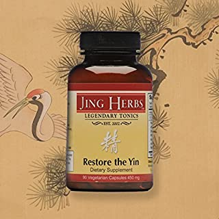 Jing Herbs Restore The Yin 90 Capsules