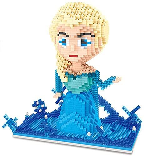 Lindas Chicas Bloques Disney Princess 3D Architecture Building Kits Educational Bricks Girls Toys (1410Pcs)