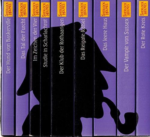 Sherlock Holmes: Das Gesamtwerk in 9 Bänden: Sämtliche Romane u. 56 Stories