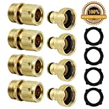 Best Garden Hose With Brass Fittings - Twinkle Star 3/4 Inches Brass Garden Hose Connector Review