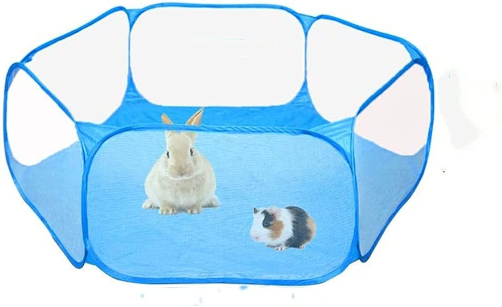 Max 68% OFF LWXFXBH Small Animal Tent Pet Fence Rabbit T My Hamster Neighbor OFFer