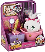 Shimmer Stars, My Cat in haar glitterbad, personaliseerbaar, haarsieraad, kinderspeelgoed, pailletten, herbruikbaar, 4 jaar
