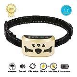 Best Bark Collar For Big Dogs - Dog Bark Collar -7 Adjustable Sensitivity and Intensity Review