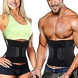 Bingrong Figurformend Bauchweggürtel Neopren Fitness Body Shaper Sport Fitnessgürtel Abnehmen...