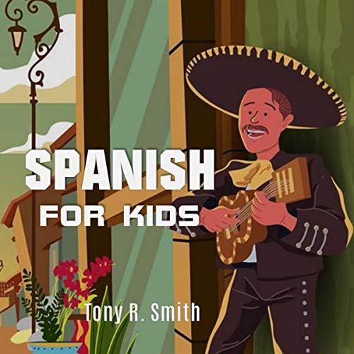 Spanish for Kids audiobook cover art