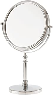 Danielle 10x Magnification Vanity Mirror, Chrome