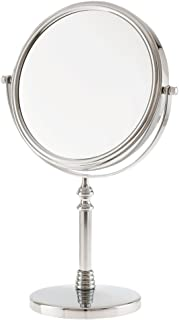 Danielle Creations Chrome Vanity Mirror, 10x Magnification