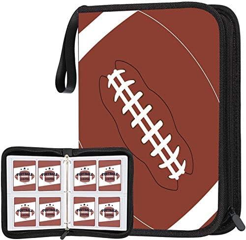 POKONBOY 400 Pockets Football Card Binder Football Trading Cards Display Case with Football product image