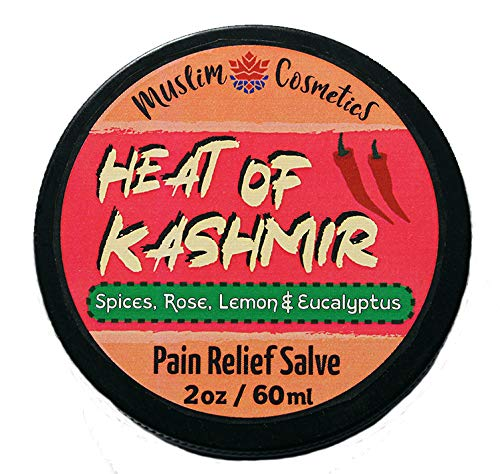 Turmeric & Cayenne pepper - Warming salve - Kashmiri Chili pepper infused/Mussel pain/Achy joints/Natural bug bite relief/Massage salve // Made in Canada - Muslim Cosmetics - The Heat of Kashmir 2oz