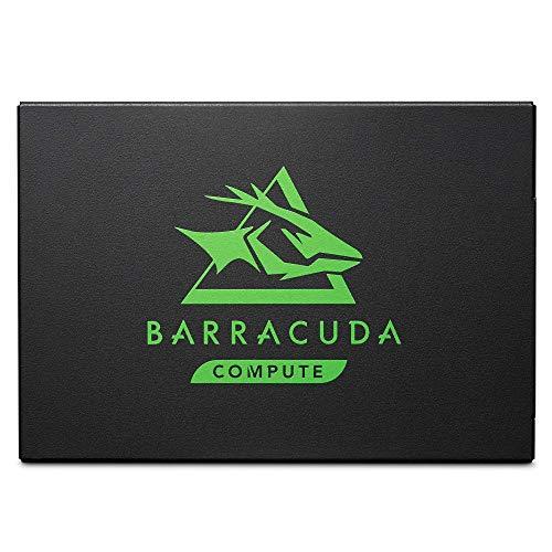 Seagate BarraCuda 120 SSD, 1 TB, Disco duro interno SSD, SSD, 2,5 pulgadas, SATA a 6 Gb/s para portátil, ordenador de sobremesa o PC (ZA1000CM10003)