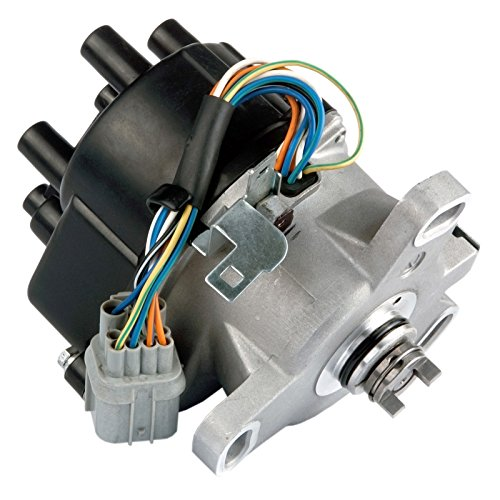 MAS Compatible Ignition Distributor w/Cap & Rotor TD-80U TD80U TD-98U compatible with 96-98 Honda Civic 1.6L SOHC Civic del Sol TEC D16Y7 D16Y 30100-P2E-A01 30100P2EA01