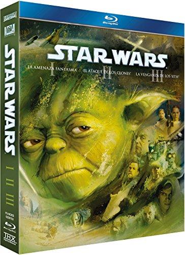 Star Wars Trilogía Episodios I-Iii (2011) [Blu-ray]