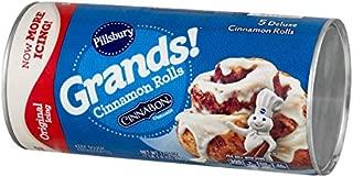 Pillsbury Grands!, Cinnamon Rolls with Cinnabon Cinnamon, Original Icing, 5 Rolls, 17 oz. Can