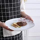 VEWEET Tafelservice 'Annie' aus Porzellan 60 teilig | Kombiservice beinhatlet Kaffeetassen 175 ml, Untertasse, Dessertteller, Speiseteller und Suppenteller| Komplettservice für 12 Personen - 6