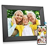 FULLJA WiFi Digital Picture Frame, IPS Touch Screen Smart Cloud Digital Photo Frame with 8GB Storage, Easy to Share Photos and Video via Free App,Email,Cloud from Anywhere (9inch)