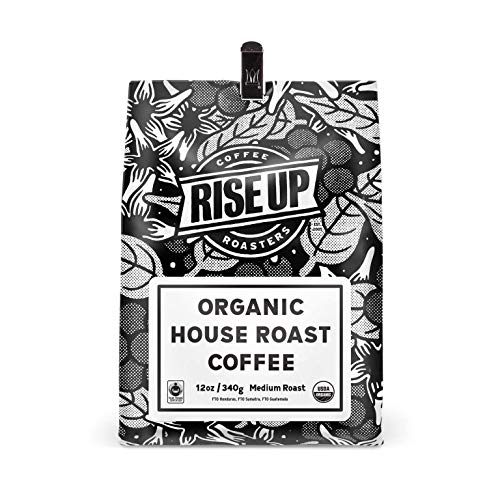 Organic House Roast, Certified Fair Trade Organic Coffee, 12 oz, Whole Bean (Organic House)