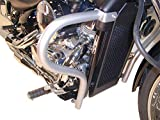 Hepco&Becker Barra de protección de motor cromada para Honda VT 750 Shadow Spirit (2007-2013)