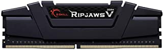 G.Skill Ripjaws V 16GB DDR4-3200Mhz 16GB DDR4 3200MHz módulo de - Memoria (16 GB, 1 x 16 GB, DDR4, 3200 MHz, 288-pin DIMM, Negro)