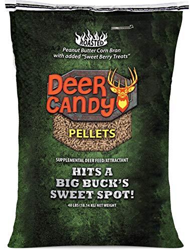 Elusive Whitetails Deer Attractant - Deer Candy PELLETS Hits A Big Buck's Sweet Spot 40-lb Bag