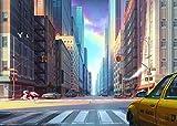 New York Taxi Dog 1000 Rompecabezas Rompecabezas Educativo para Niños Rompecabezas De Descompresión para Adultos