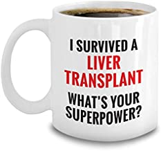 Liver Transplant Recovery Gift Funny Organ Recipient Surgery Mug
