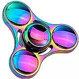 GRH Colorido Aleación de Zinc Metal Fidget Spinner Hand Spinner Metal Bearing Finger Spinner Alivia el estrés Juguetes para niños Regalos para Adultos