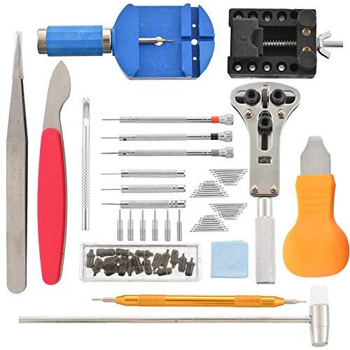 Godagoda Bril Reparatie Set Mini Draagbare RVS Horloges Sieraden Schroevendraaier Tool Kit 19 PC