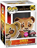 Funko Pop The Lion King 2019 Simba Flocked BoxLunch Exclusive Vinyl Figure