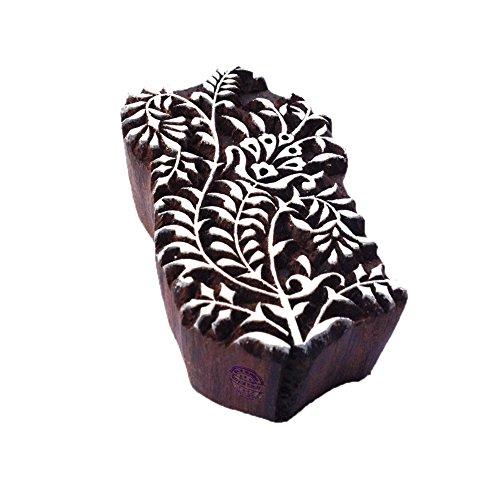 Royal Kraft Handgemacht Dekorativ Blumen Design Holz Stempel für Drucken