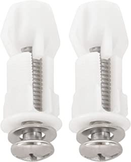 Beada Toilet Hinges Screws WC Hole Fixing Easy Installation 4 Pack