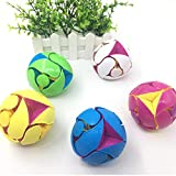 Sanmubo Trade 3.15 inch Switch Pitch Ball Color-Flipping Ball,Decompression Ball Innovative Toy-Suitable for Kids Children (Ages 4+)-Random Color,1Pack