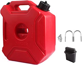 YOUNGFLY Fuel Cans Gasoline Container 0.8 Gallon Universal Fuel Oil Petrol Diesel Storage Gas Tank Emergency Backup for Jeep JK Wrangler SUV ATV Car UTV ect Most Cars 3L