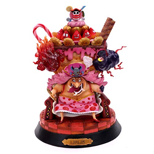 EASTVAPS One Piece Big MOM Charlotte Pudding Figura Juguete Modelo decoración
