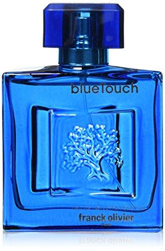 Franck Olivier - Blue Touch - Eau de Toilette - Colonia para hombre - Spray 100 ml