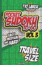 POCKET SUDOKU TO-GO: Ideal for Math Challenge and Sudoku Lovers on the Go.