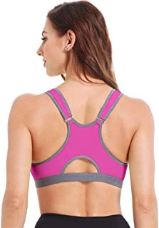 Sports Bra,Sport Bras Yoga Shirt Women Fitness Running Vest Underwear Shockproof Padded Bra Sports Top Sportswear zhengpin...