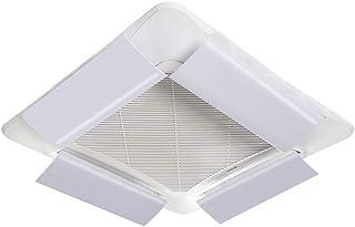 Aire Acondicionado Central Deflector de Viento Soplete Anti Directo en el Techo Salida de la máquina Deflector Universal Deflector Hood (4 Pack) (Size : 86cm)