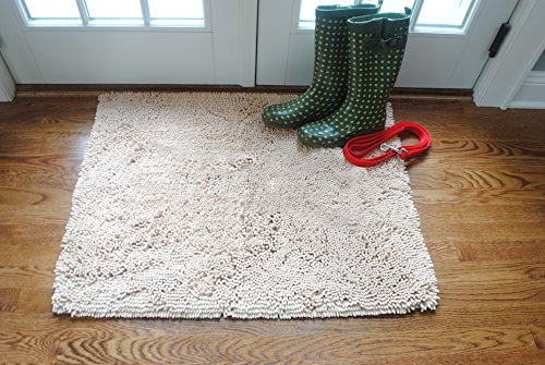 "Soggy Doggy No Bone Doormat 26"" x 36"" (Beige) AmazonPets Doormats from Selection Top"