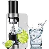 A-YMA Soda-Maschine, Handelsblasen-Wasser-Maschine 1L Kapazität, CO2-Flasche, Selbst Gemachte Mit...