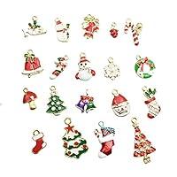 Vi.yo ペンダント クリスマスシリーズ クリスマスチャーム アクセサリー 装飾 19個混合 可愛い 手作り飾り