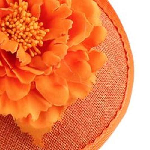 FHKGCD Sinamay Fascinator Haarspange Für Frauen Hochzeitshut Show Church Party Braut...
