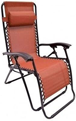 Daana Grant Folding Chaise Lounge Outdoor, Zero Gravity Chair Outdoor Lounge Recliner Chaise Beach Pool Patio