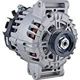DB Electrical 400-40144 Alternator Compatible With/Replacement For 130Amp CW Rotation 12V 2.4L L4 GMC Terrain 2010-2014 13500315 13588328 11459 2620360 849114 TG12C067