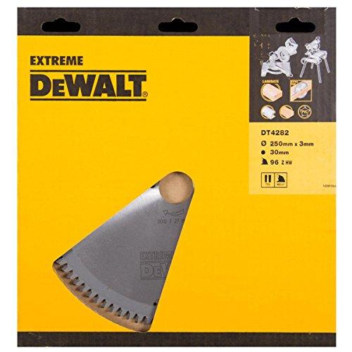 Dewalt DT4282-QZ DT4282-QZ-Hoja para Sierra Circular estacionaria 250x30mm 96D TCG-5º, 0 W, 0 V